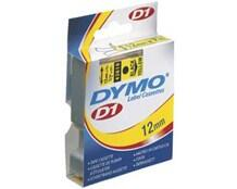 Dymo tape 12mm S/B